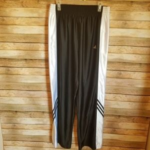 Vintage Adidas Men's Snap Active Pants Large EUC